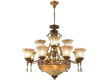 Wrought Iron Lighting 4058