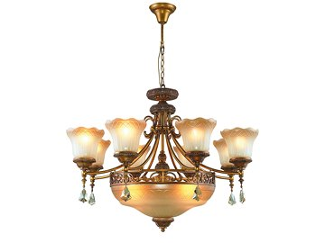Wrought Iron Lighting 4059