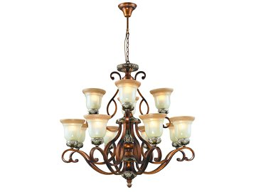 Wrought Iron Lighting 4061