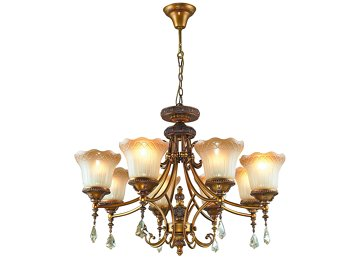 Wrought Iron Lighting 4062