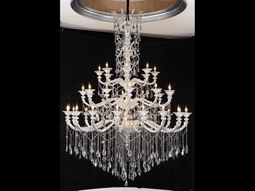Crystal Candle Lamp 5047
